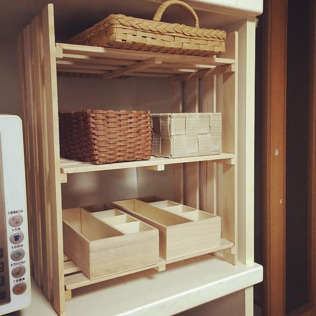 【棚】100均のすのこを使った簡単DIY、棚の作り方を紹介!!!のサムネイル画像